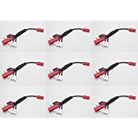 9 x Quantity of DBPower RC Quadcopter Drone Multi-Plug Charge Lead for Micro Model Batteries