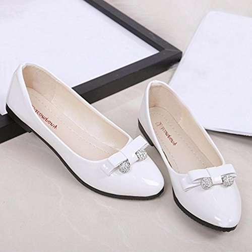 Chaussures à bout rond blanches Casual femme n2TWRrE0g6