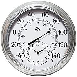 Infinity Instruments Prague 16 in. Wall Clock