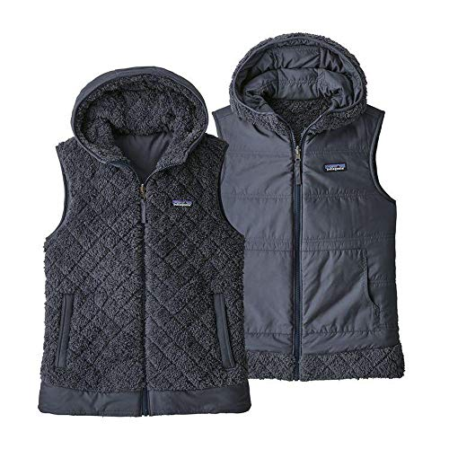 Patagonia Women's Los Gatos Hooded Vest (L) Smolder - Vest Womens Patagonia