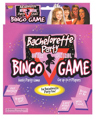 Brand New Bachelorette party bingo game by Forum Novelties