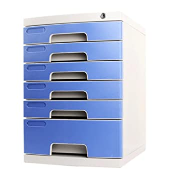 Met Love con Lock File Cabinet Desktop Storage Box Cajón de plástico Duro Level 6 A4 Archivadores: Amazon.es: Electrónica