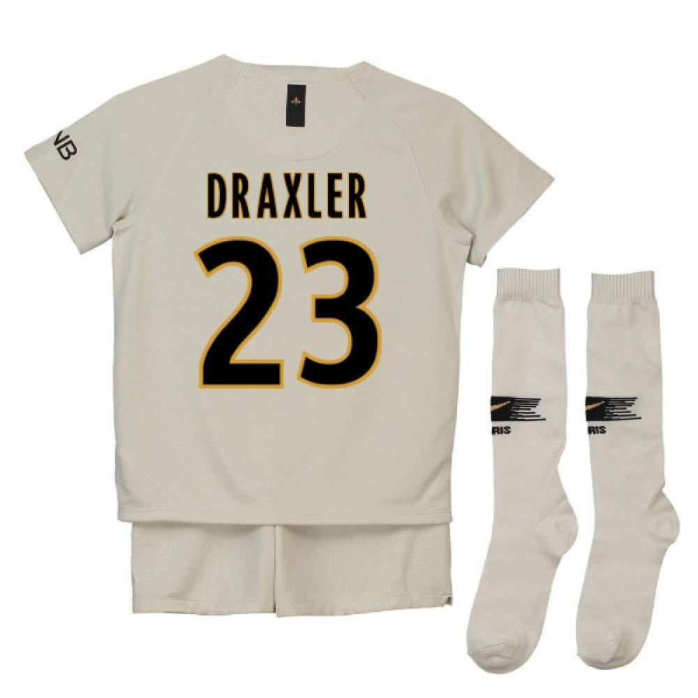 UKSoccershop 2018-19 PSG Away Mini Kit (Julian Draxler 23)