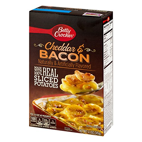 Betty Crocker Dry Meals Cheddar & Bacon Potatoes, 5.1 oz