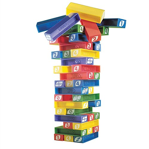 YADEER Board Role-playing Games Toys Pile Up Games UNO STACKO Games by YADEER