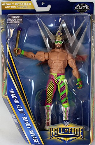"WWE Wrestling Elite Collection Hall of Fame ""Macho King"" Randy Savage ""6"" Action Figure"