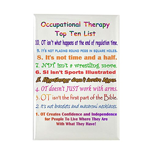CafePress Occupational Therapy Rectangle Refrigerator
