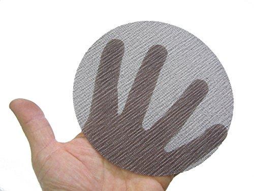Mirka 9A-232-600   5-Inch 600 Grit Mesh Abrasive Dust Free Sanding Discs,  Box of 50 Discs