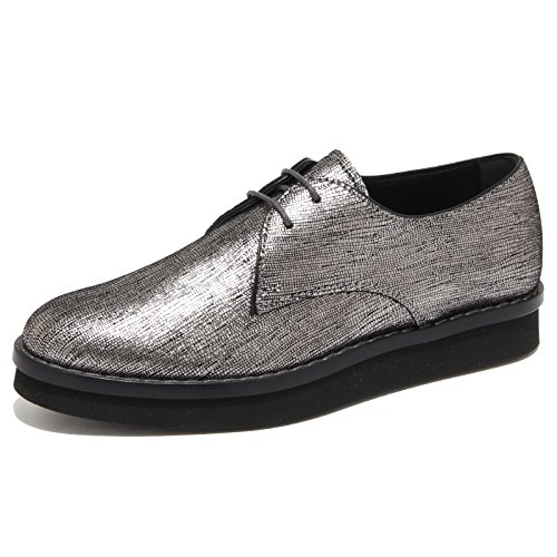 Argento Scarpa Donna Scarpe 6351n Shoes Tod's Women Allacciata qtwdwx1f