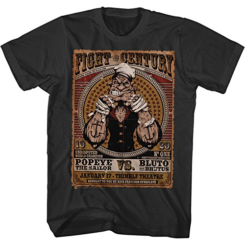 popeye-mens-fight-of-the-century-t-shirt-large-black