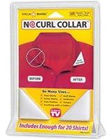 No Curl Collar Stays 40 Pair Dispensing Case + 20 Pair Refill Pack Peel-&-Stick