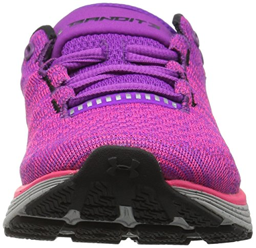 W Zapatillas Armour de Charged Bandit Morado 3 UA para Mujer Running Purple Rave Under xqE61wYZnq