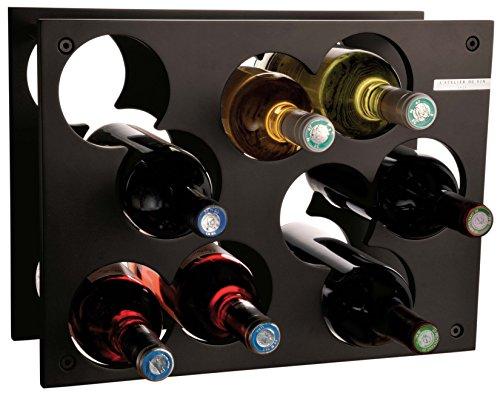 Paderno World Cuisine L'Atelier Du Vin City Wine Rack, Black