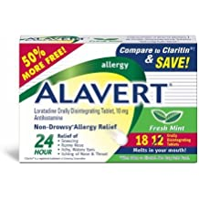 Alavert Fresh Mint, 18 Count by Alavert