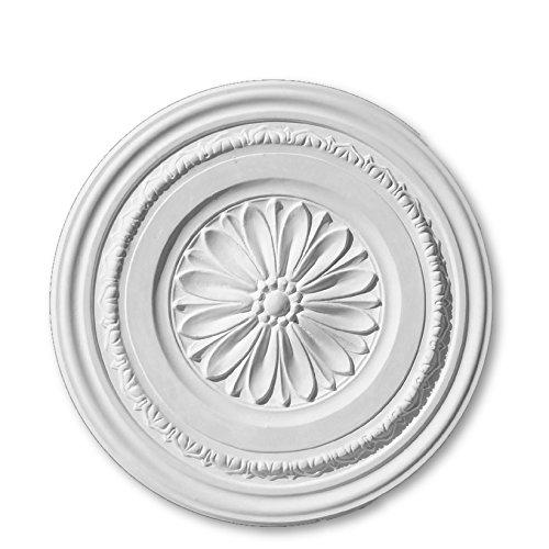 Plaster Ceiling Rose Medium 465mm   Handcrafted - R41 Cornice Covings Ltd