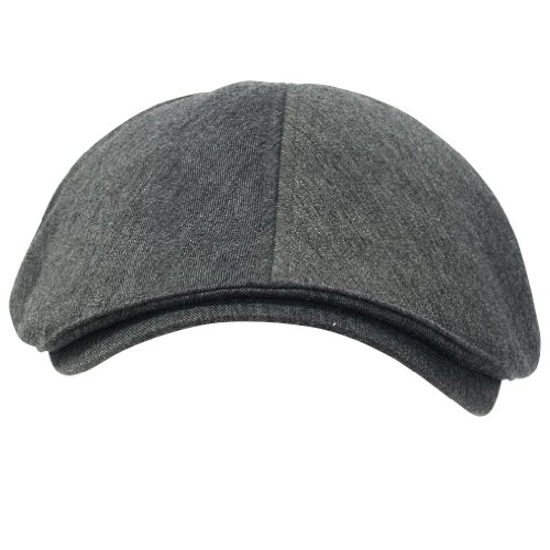 ililily Cotton Flat Cap Cabbie Hat Gatsby Ivy Cap Irish Hunting Hat Newsboy (flatcap-004-9) (Waxed Cotton Irish Cap compare prices)