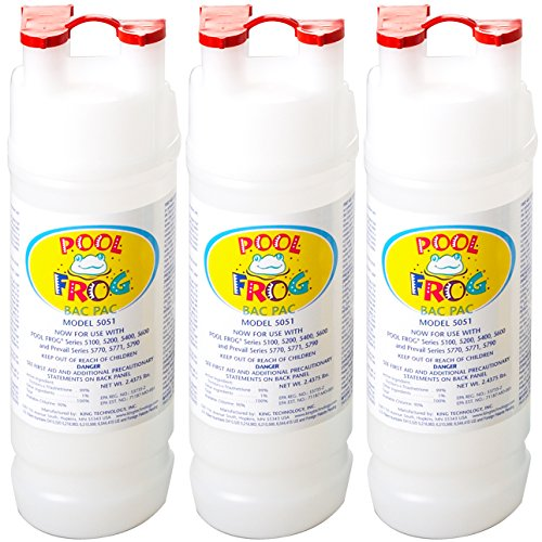 - Pool Frog Chlorine Bac Pac 3-pack