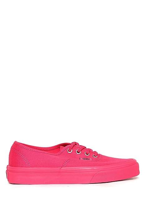 Vans Tenis Fiusha Tenis para Mujer Rosa Talla 23: Amazon