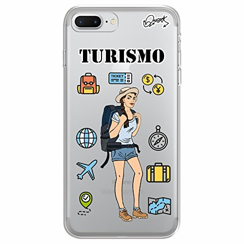 Capa Personalizada para Apple iPhone 7 - TURISMO FEM - Quark