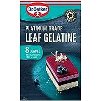 Dr Oetker Platinum Grade Leaf Gelatine (8 Leaves), 13g
