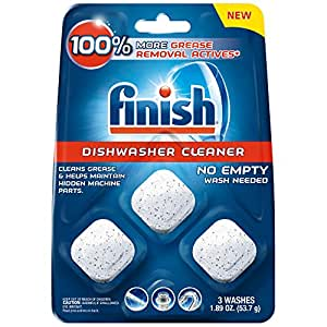 Amazon.com: Finish in-Wash Dishwasher Cleaner: Clean