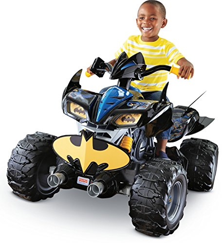 (Power Wheels DC Super Friends Kawasaki Batman ATV)