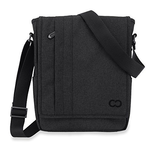 CaseCrown Campus North Messenger Bag (Black Stealth) for Microsoft Surface Pro & RT (Campus Messenger)