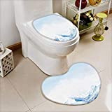 also easy Cushion Non-slip Toilet Mat top of high mountains covered by snow india with High Absorbency