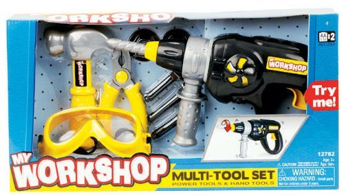 My Workshop Multi-tool Set Power Tools And Hand Set (Power Tool Workshop)