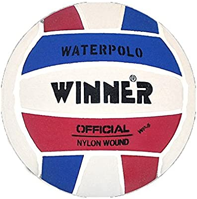 Winner - Balón de waterpolo, diseño en color rojo, blanco y azul ...