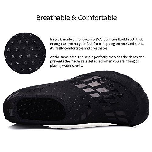 Pictures of APTESOL Unisex Beach Barefoot Water Shoes Womens Mens Water Shoes 6
