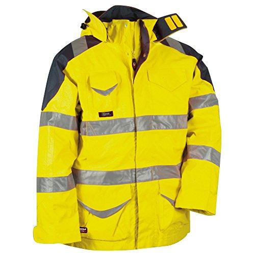 Cofra Protection - Giacca di sicurezza 3 in 1, colore: Giallo acceso, 40-00V02400-56