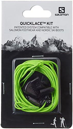 シューズ用品 靴紐 Quicklace KIT (クイックレース キッド) Green. 27.0cm
