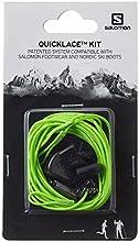 Salomon QUICKLACE KIT L32667700 Set de Cordones, Unisex, Verde
