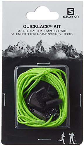 Salomon Quicklace Kit Di Set Verde Lacci green Unisex rFwEqx5r