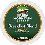 #2: Green Mountain Coffee Breakfast Blend Decaf Keurig Single-Serve K-Cup Pods, Light Roast Coffee (Breakfast Blend Decaf, 100 Count)
