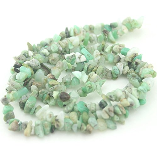 - SR BGSJ Jewelry Making Natural 7-8mm Loose Gemstone Chips Jewelry Spacer Beads Strand 34