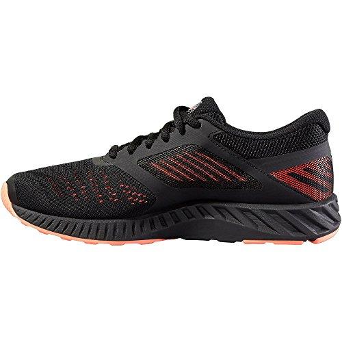 asics fuzeX Lyte - Chaussures de running - orange/noir Modèle 37,5 2016