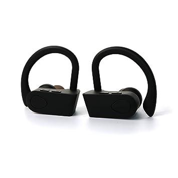 Auriculares bluetooth 4.2 sin cable entre ellos para running, gimnasio y deportes Auriculares bluetooth para