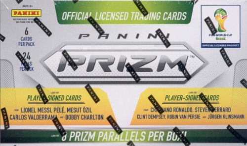 Official 2014 FIFA World Cup Brasil Panini Prizm Trading Cards Box by Panini