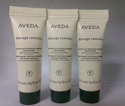 Aveda Damage Remedy Intensive Restructuring Treatment (Pack of 3) 0.34 oz each