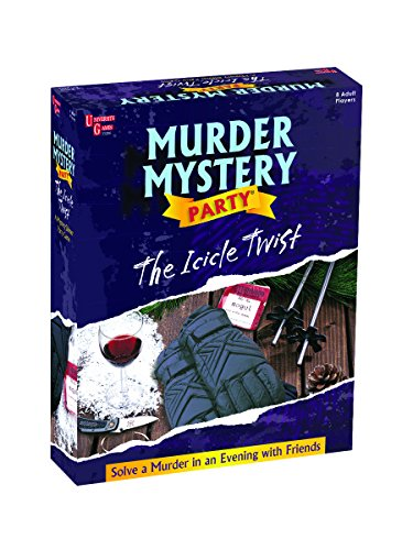 University Games Murder Mystery Part Game - The Icicle Twist