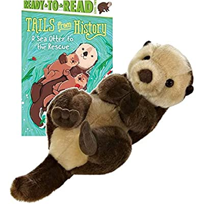 Aurora World Miyoni Sea Otter Plush Gift Set: Toys & Games