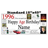 1996 PERSONALIZED BANNER by Partypro