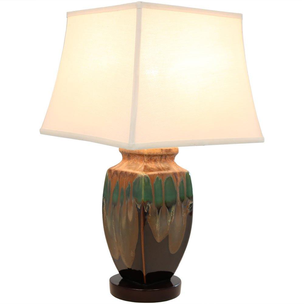 Sunnydaze Indoor Multi-Colored Ceramic Table Lamp, 23 Inch by Sunnydaze Decor (Image #7)