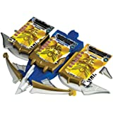Power Rangers Megaforce Snake Ax, Tiger Claw, and Shark Bowgun Battle Set