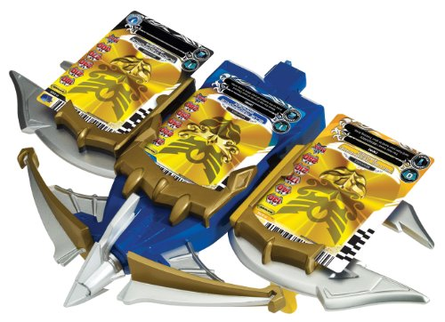 Power Rangers Megaforce Snake Ax, Tiger Claw, and Shark Bowgun Battle Set -