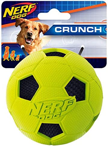 Nerf Dog 2 5in Soccer Crunch product image