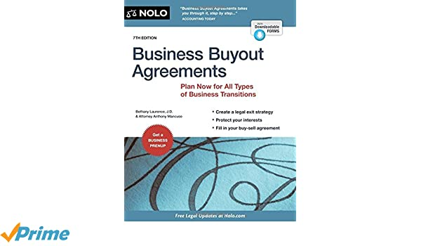 Business Buyout Agreement - Design Templates