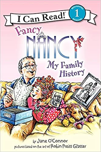 Image result for fancy nancy my family history